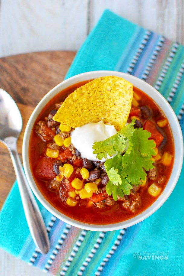 Our Instant Pot Taco Soup Recipe is going to become one of your all-time favorite comfort food meals. It is so easy to make, and even easier to customize. We love adding in various veggies or a bit of extra sauce for heat. Check out our recipe below!