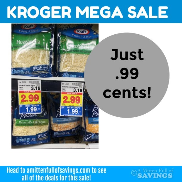 Kraft Cheese Just .99 cents MEGA deal
