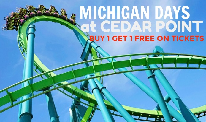 MICHIGAN DAYS AT CEDAR POINT