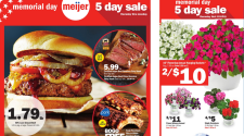 Meijer Memorial Day Weekend Sale 5/23-5/27 {Meijer Bucks Weekend}