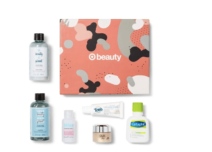 6-Piece Target Beauty Box for October