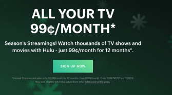Get Hulu for $0.15 per month for 12 months!