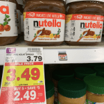 deal on Nutella at Kroger