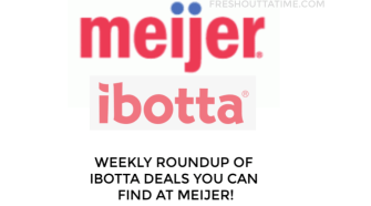 New Ibotta Deals at Meijer Week 4/14