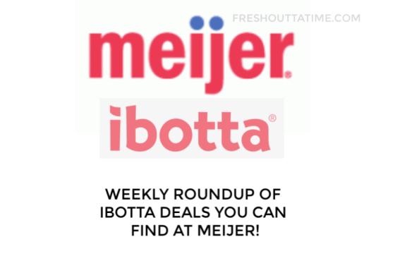 New Ibotta Deals at Meijer Week 4/14