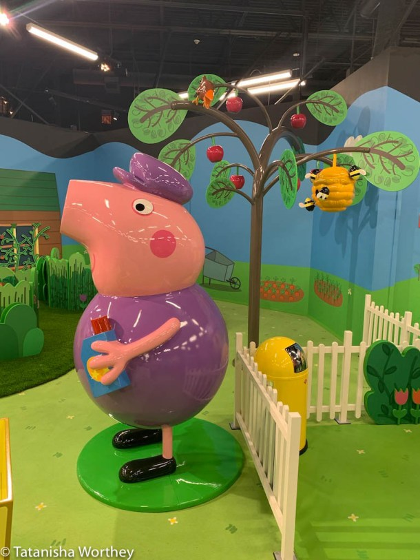 How much does it cost to get into Peppa Pig World Of Play?