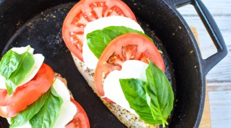 Caprese Stuffed Chicken Recipe