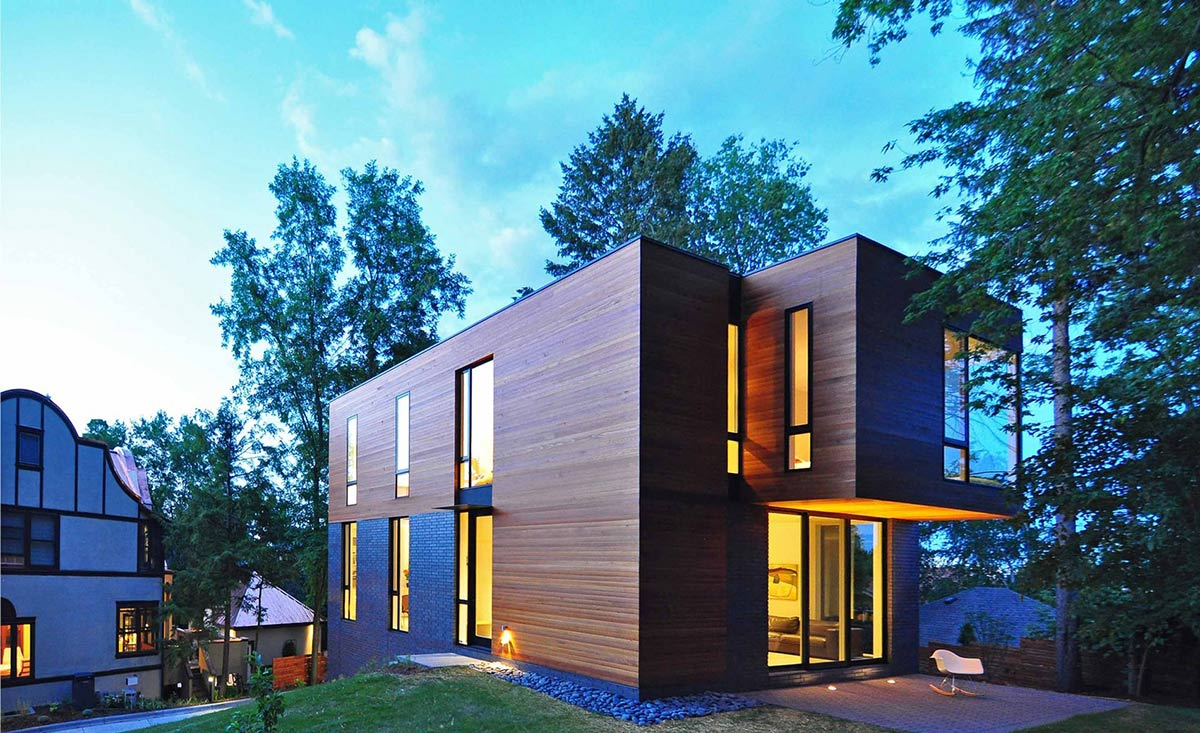 Best Kitchen Gallery: Pact Contemporary Family Home In Madison Wisconsin of Madison Modern Home  on rachelxblog.com
