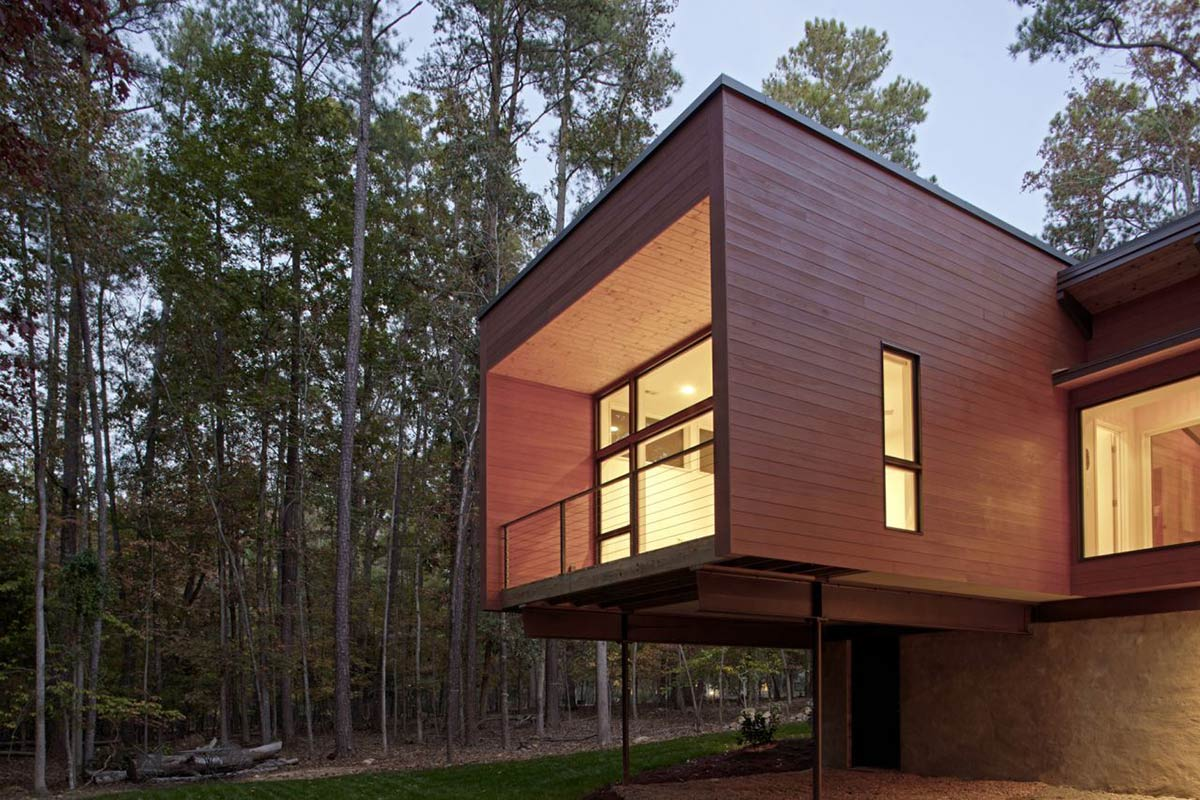 Deck House Renovation In Chapel Hill North Carolina
