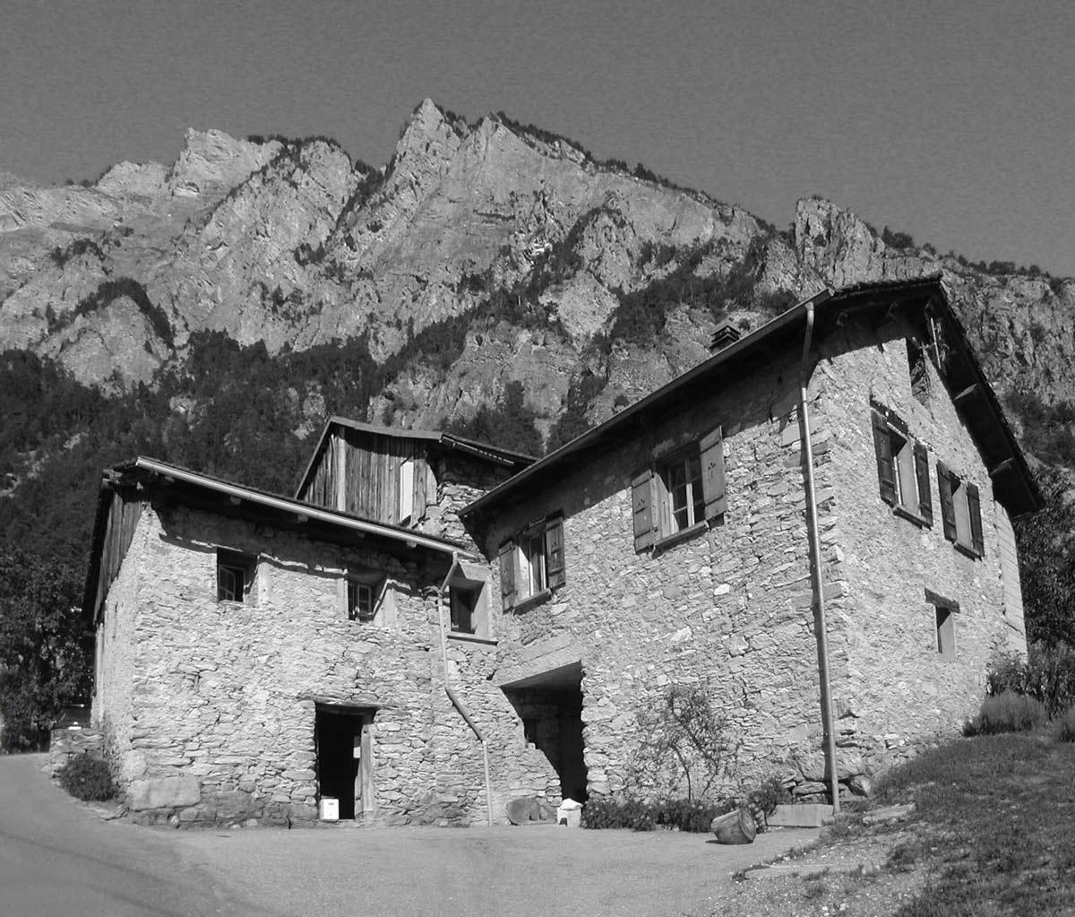 Before, Renovation in Chamoson, Switzerland by Savioz Fabrizzi Architecte