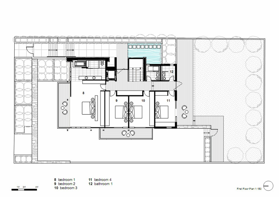 First Floor Plan Vaucluse House In Sydney Australia By