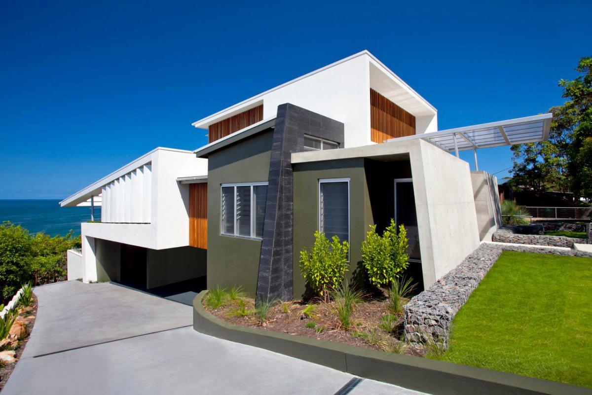 Coolum Bays Beach House In Queensland Australia