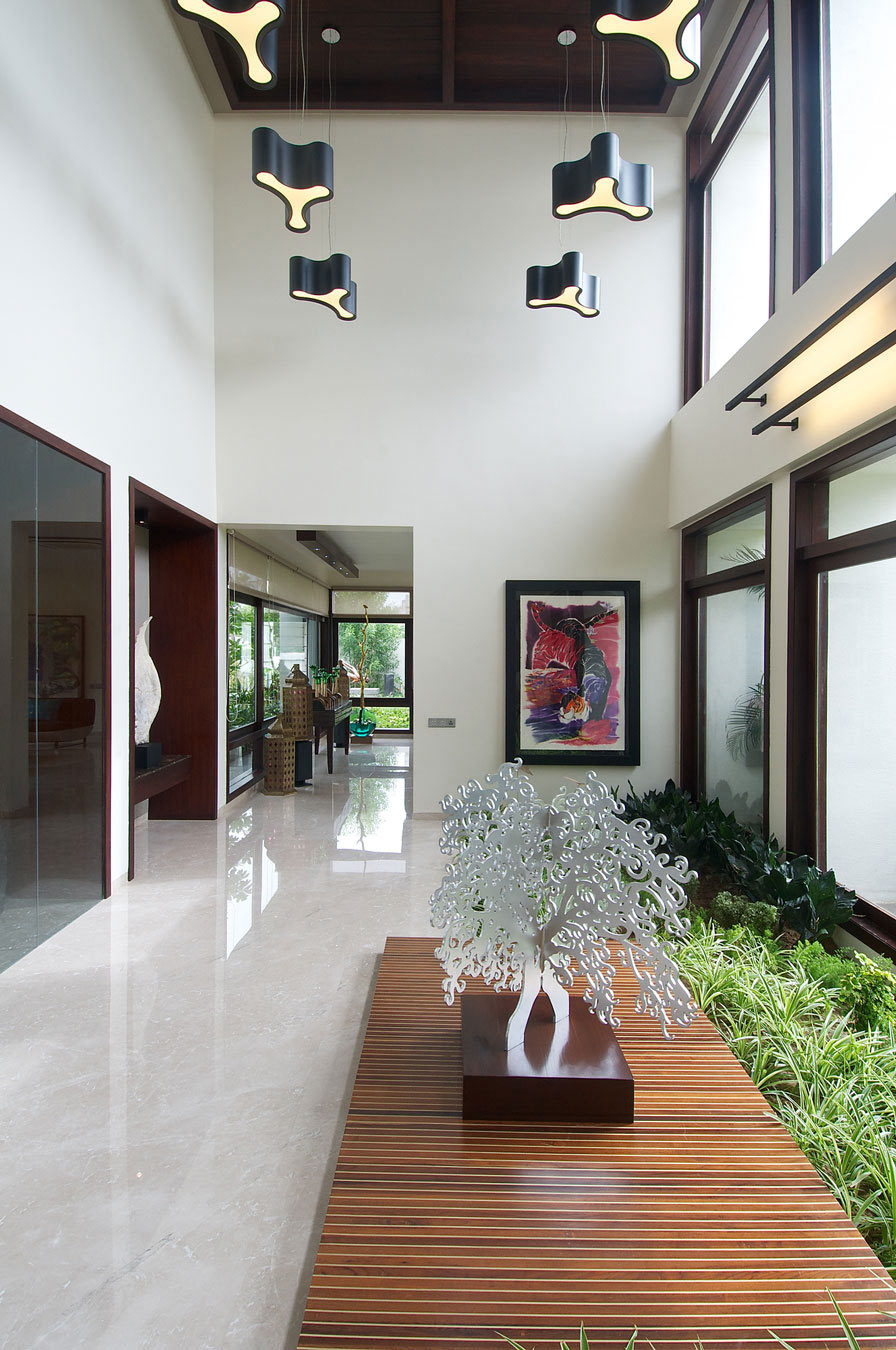Contemporary House In Ahmedabad India By Hiren Patel