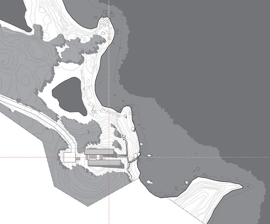 Site Plan, Home in Port Mouton, Nova Scotia