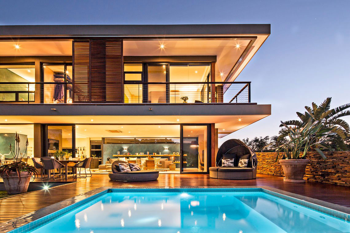 Exquisite Contemporary Residence in KwaZulu-Natal, South ...