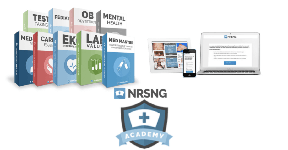 NRSNG Academy - NCLEX Questionnaires