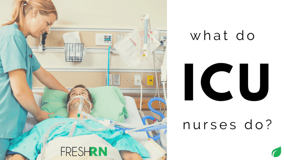 """ICU nurse sounds like a pretty cool job, doesn't it? Really, any job with the word """"intense"""" in the title sounds… well, intensely awesome. I'm here to dispel any doubt and inform you that yes, ICU nursing is pretty legit."""
