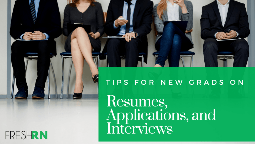 Season 2, Episode 7, Tips for New Grad Nurses on Resumes, Applications, and Interviews Show Notes
