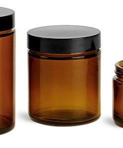 Glass Ointment Jars