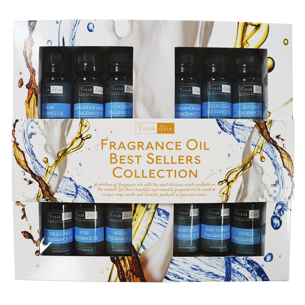 Fragrance Oil Starter Kit – Best Selling Collection of Fragrance Oils!
