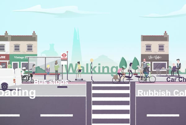 Southwark – Kerbside Strategy Animation