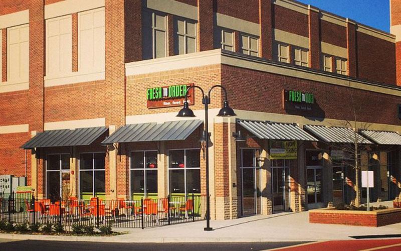 Fresh Order Restaurant Greenville Sc