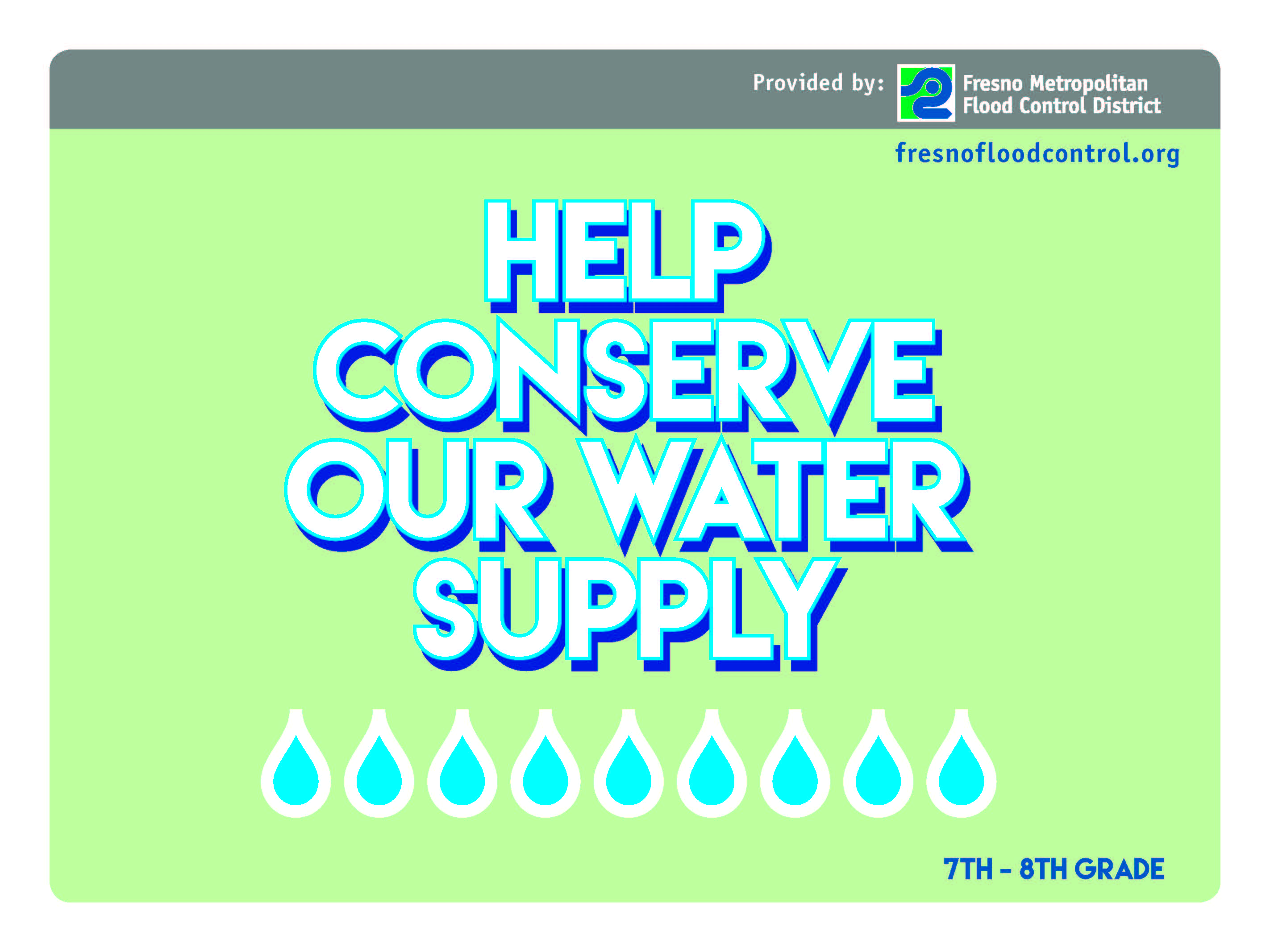 Help Conserve Our Water Supply Classroom Suite