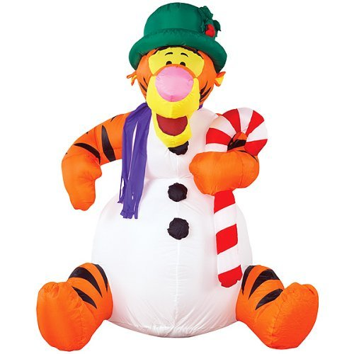 SInflatable Christmas Lawn Decoration - 4 Feet Holiday Tigger