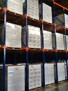cold storage racks shelving fresno