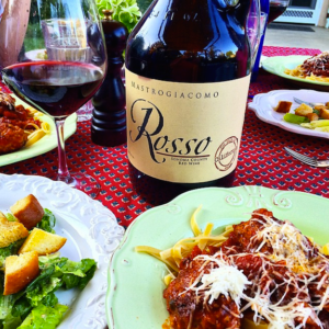rosso wine and dinner