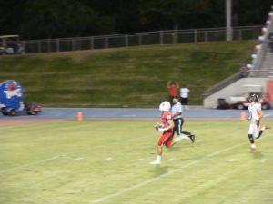 Wide open touchdown pass for Buchanan