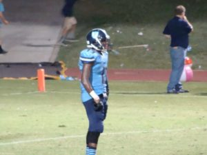Bullard wide receiver John Brown back to return the punt