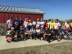 The Dry Creek trail dedication