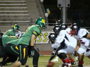 Isiah Sanchez helping out on defense