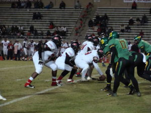 McLane's offensive line struggled to cover the blitz