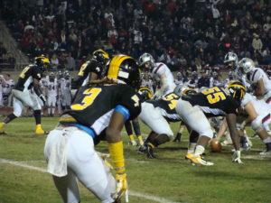 Tyler Horton had a leaping interception