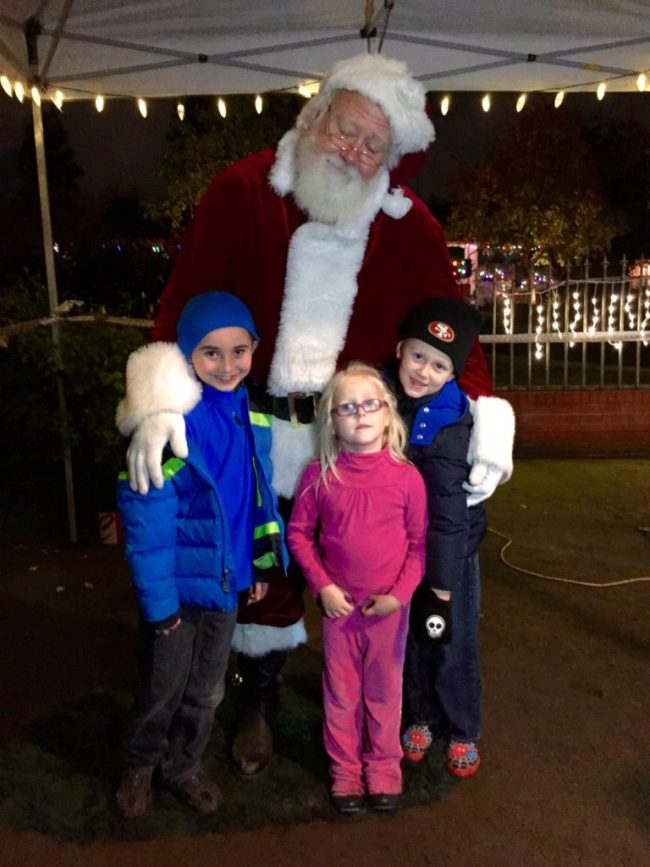 If you're lucky, you may run into the big guy himself on walk night!