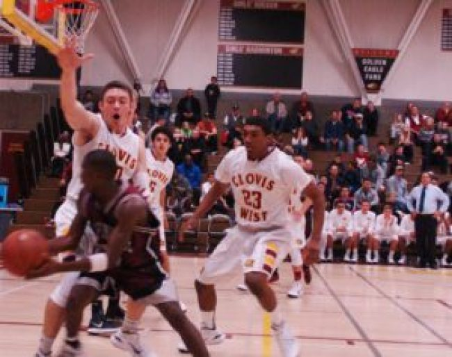 Clovis West played intense defense in their win against independence.