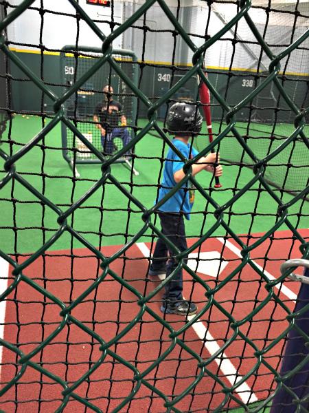 Future Prospects batting cage