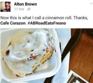 ICYMI: Alton Brown's Fresno Restaurant Picks