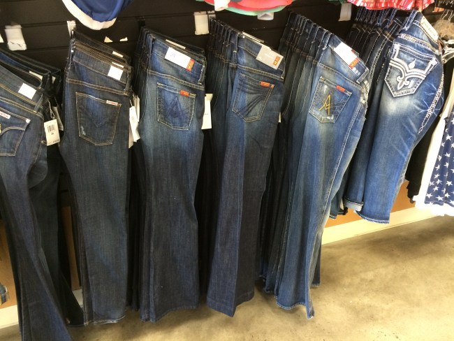 Jeans at Envy Fine Clothing