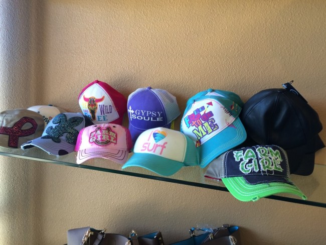 Hats at Envy Fine Clothing