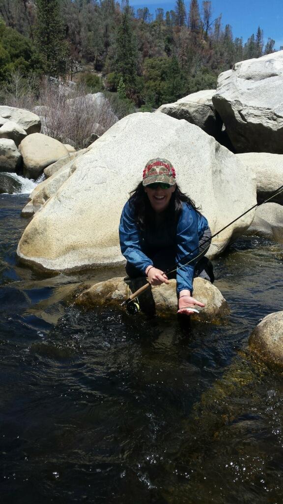 Ruste fly fishing