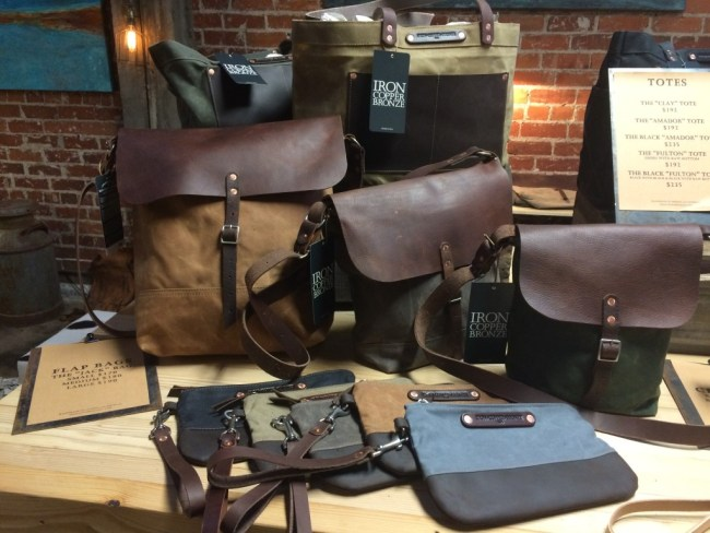 Bags at Iron+Copper+Bronze