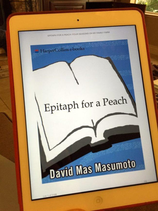 epitaph for a peach masumoto david m