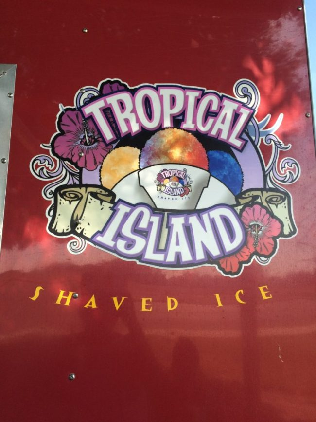 Tropical Island Shaved Ice