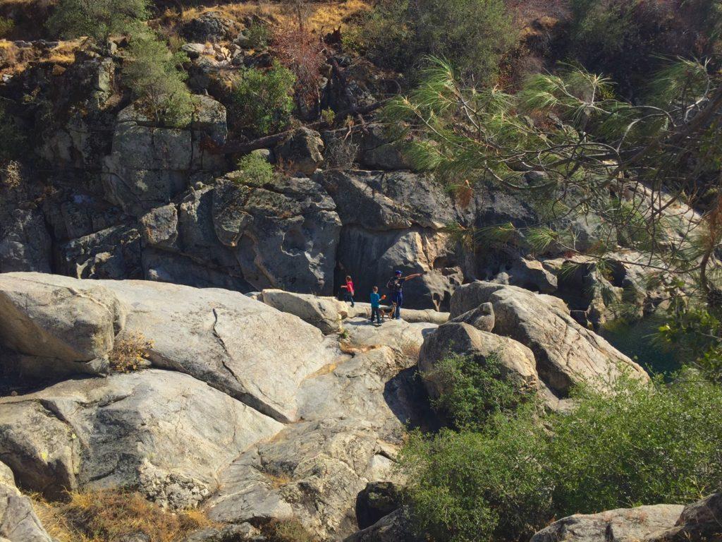 rock bouldering