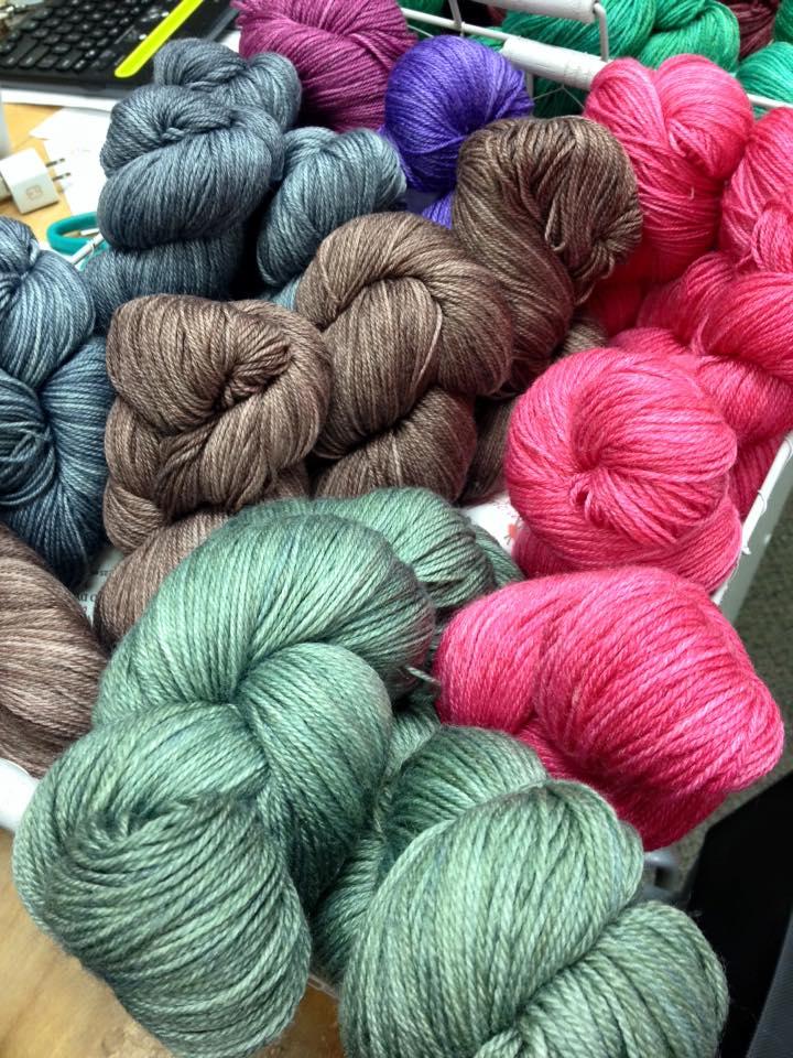Such beautiful yarn!