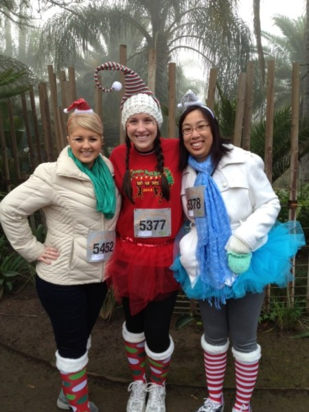 I had lots of fun at the Jingle Bell Run with friends a couple years back.