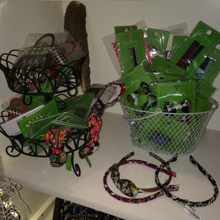 bows and and headbands from the Vera Bradley collection at Top Drawer